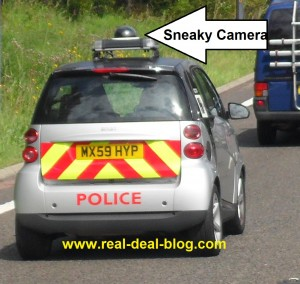 Greater Manchester Police Camera Car