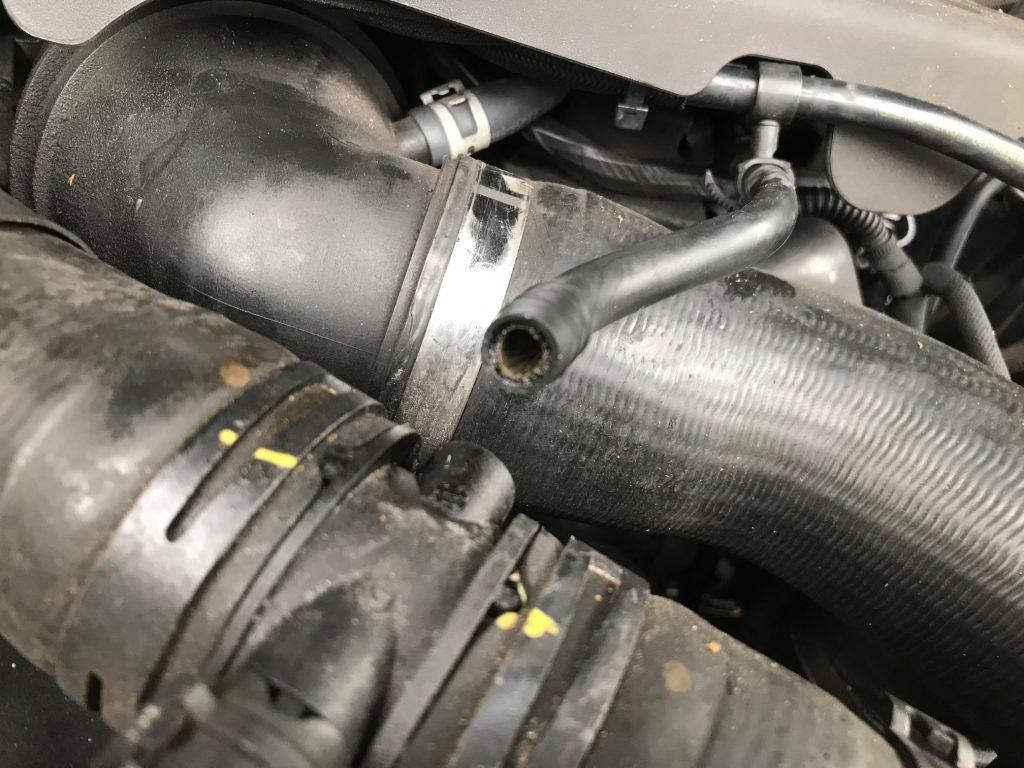 Range Rover L322 2010 TDV8 4.4 water leak